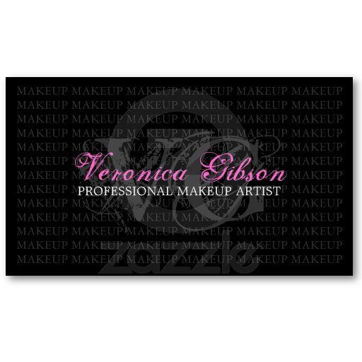 Makeup artist business card pinterest makeup artist business makeup artist business card colourmoves