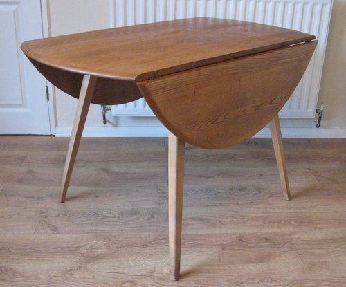 Ercol Table Model 384 Retro Mid Century Ercol