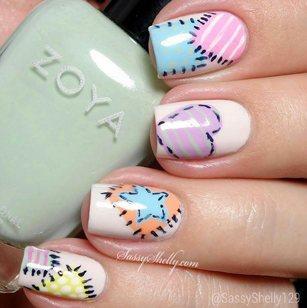 Instagram inspired 10 smashing nail art designs for long nails instagram inspired 10 smashing nail art designs for long nails prinsesfo Gallery