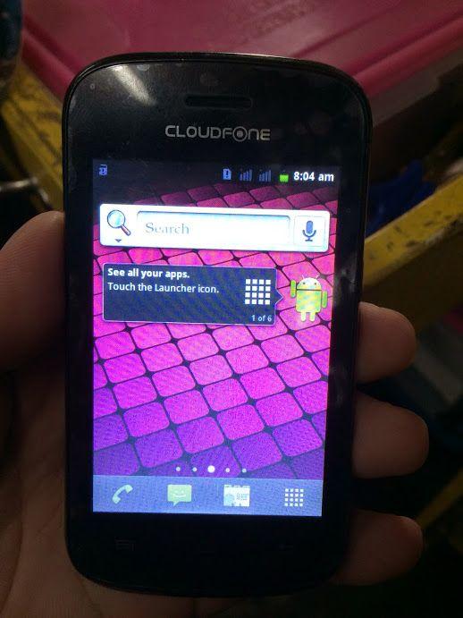cloudfone ice 350e