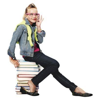 Girls' Denim Jacket Outfit