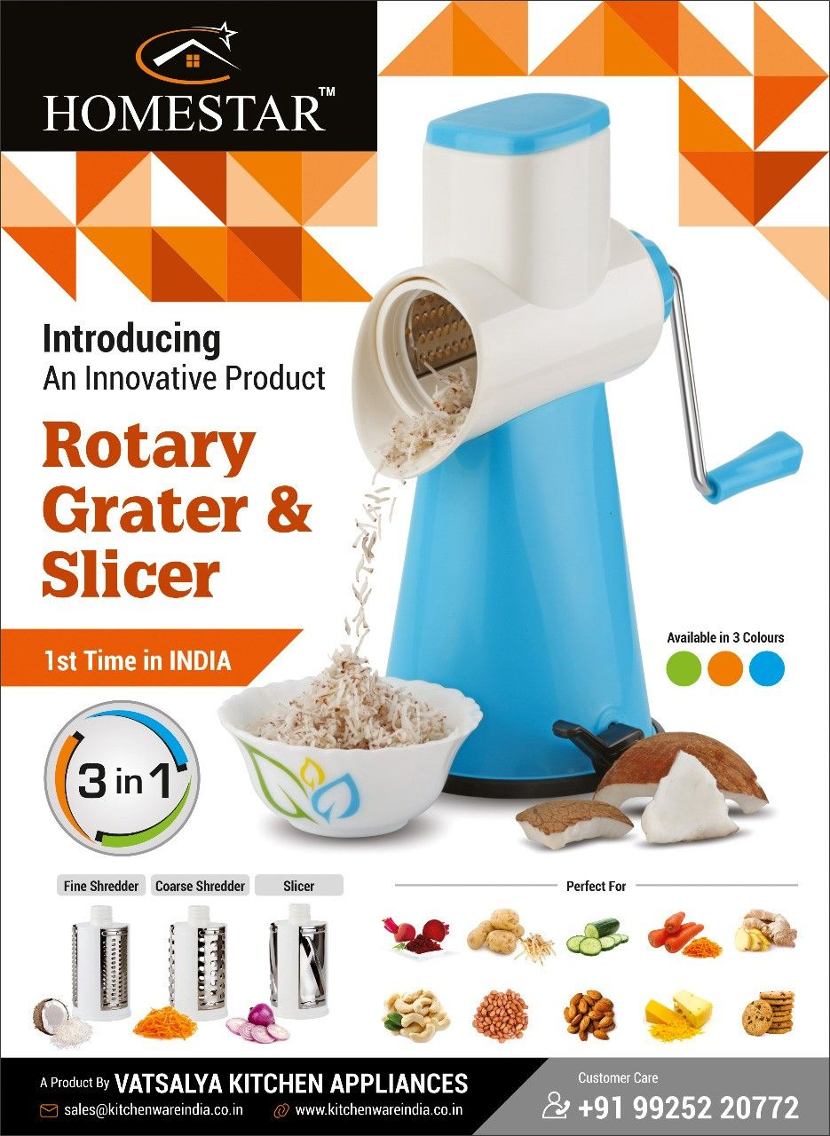 Pin by CHARMY KITCHENWARE on Rotary Grater & Slicer   Pinterest   Grater