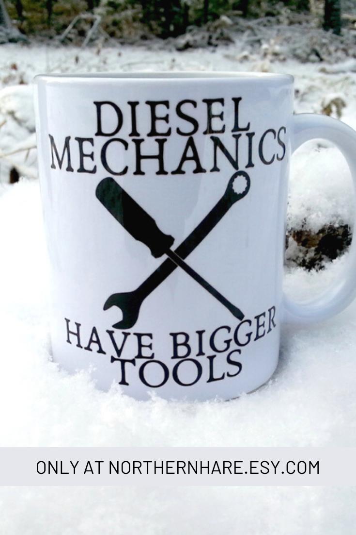 Diesel Truck Mechanic Gift Mug #teamugs