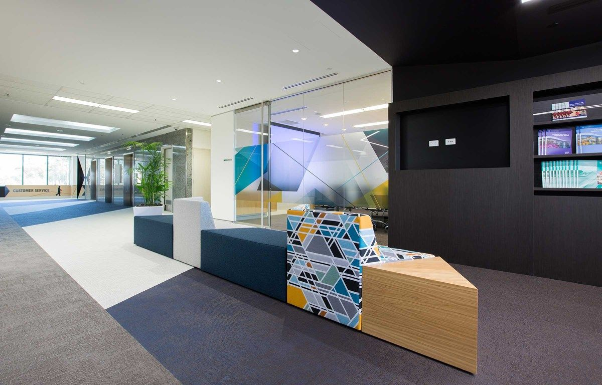 architect office design. The Architect Firm IA Group Chose To Use Bolon Flooring For This Renovation Project At Department Of Commerce Office In Perth, Australia. Design /