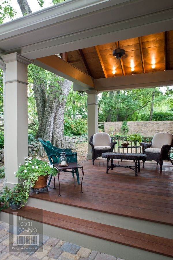 Porch Flooring Options Outdoor Rooms Patio Patio Design