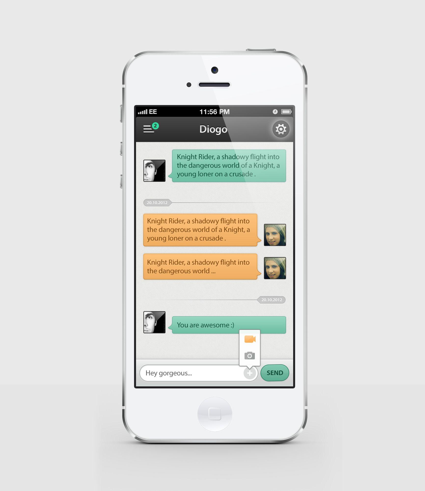 ป กพ นในบอร ด Ui Mobile User Interface User Experience