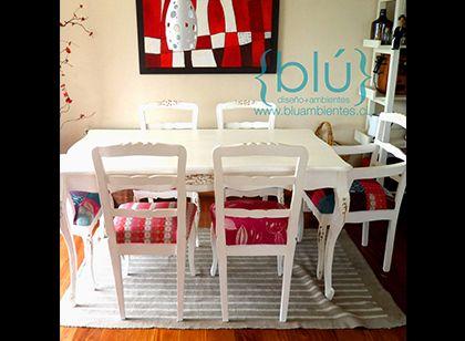 Comedor Provenzal para 6. Mesa 150x90 cm | En la mira | Pinterest ...