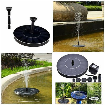 Advertisement Floating Solar Powered Pond Water Pump 400 x 300