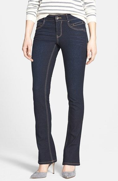 a1a6f3a3e90ca Nordstrom Wit & Wisdom 'Itty Bitty' Bootcut Jeans (Blue Exclusive) on  shopstyle.com