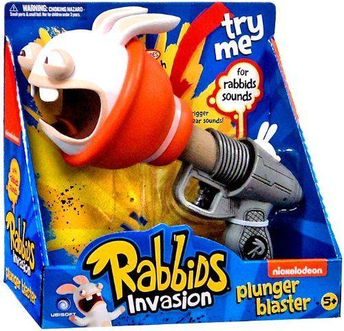 Raving Rabbids Invasion Plunger Blaster Raving Rabbids Invasion 瘋狂兔玩具