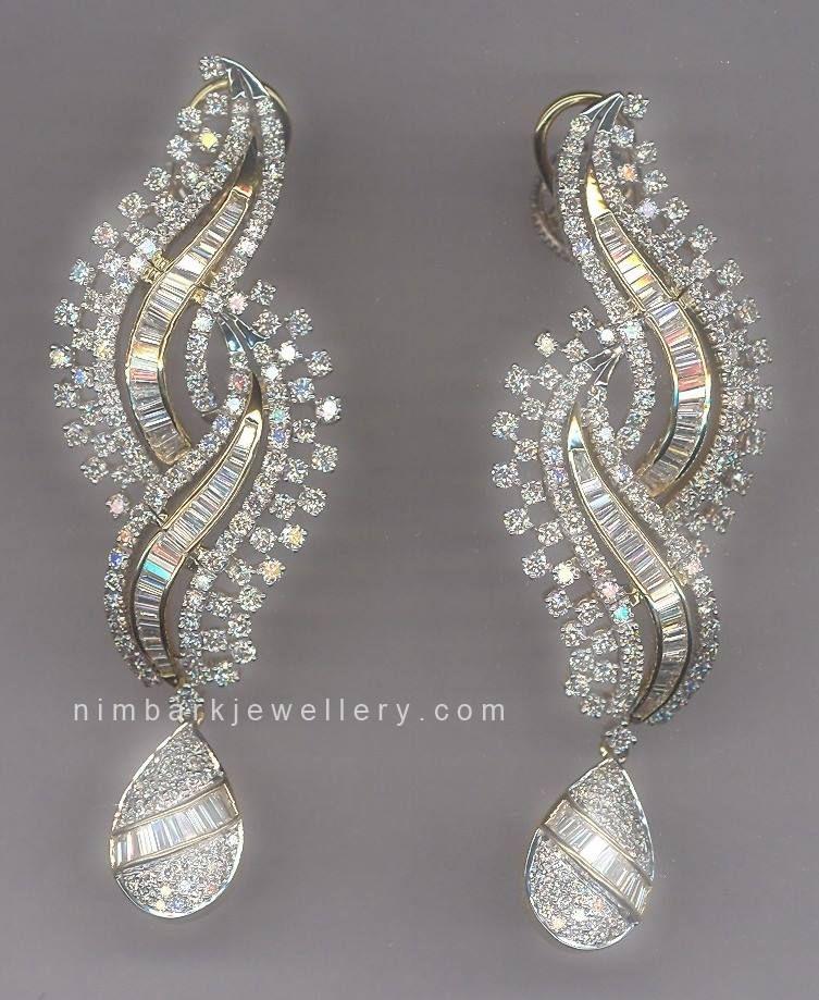 Chandelier Diamond Earrings #jewellery #jewelry | Earrings ...