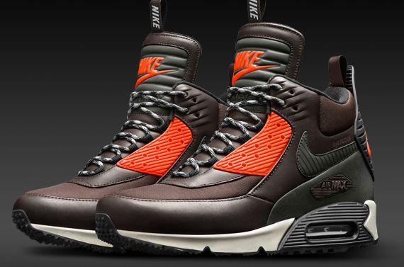 Nike Sportswear Air Max 90 SneakerBoot Waterproof Velvet