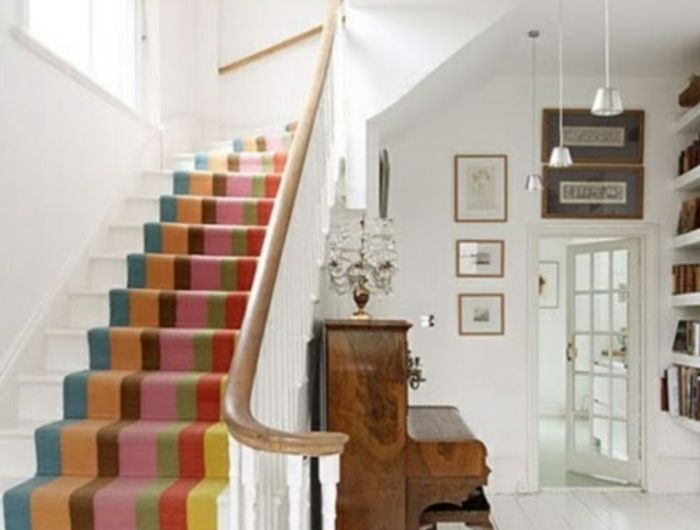 Le Tapis Pour Escalier En 52 Photos Inspirantes Maison
