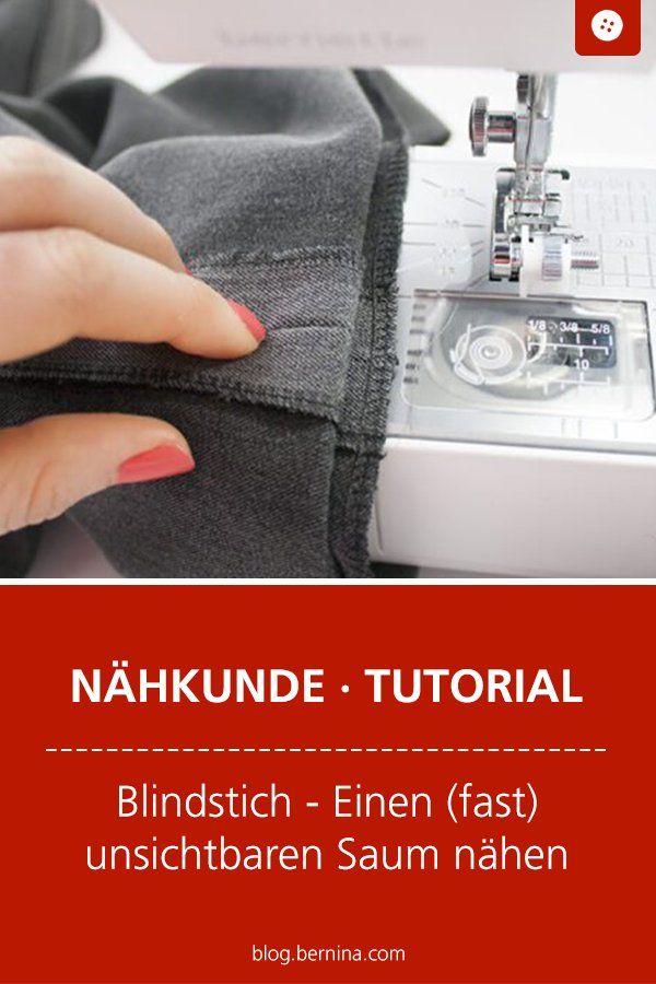 Instructions: Cousez des ourlets (presque) invisibles avec un point invisible   – Nähen