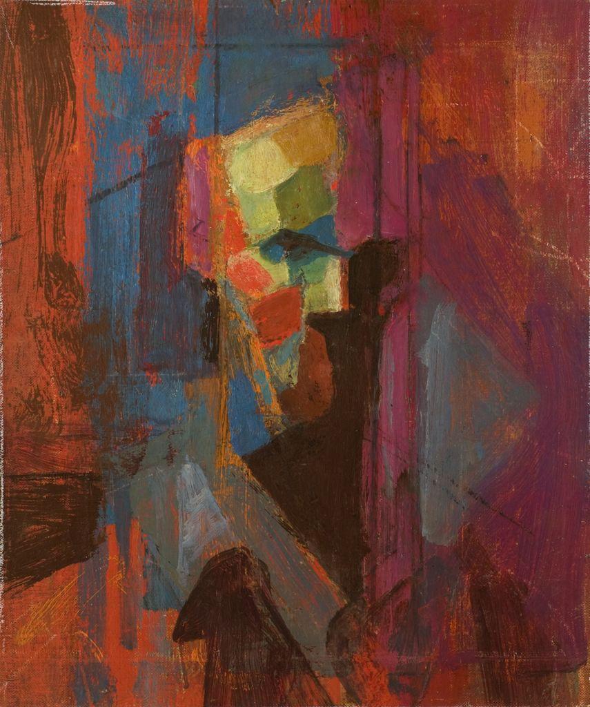 Earl Kerkam Head 1962 Artistic Inspiration Painting