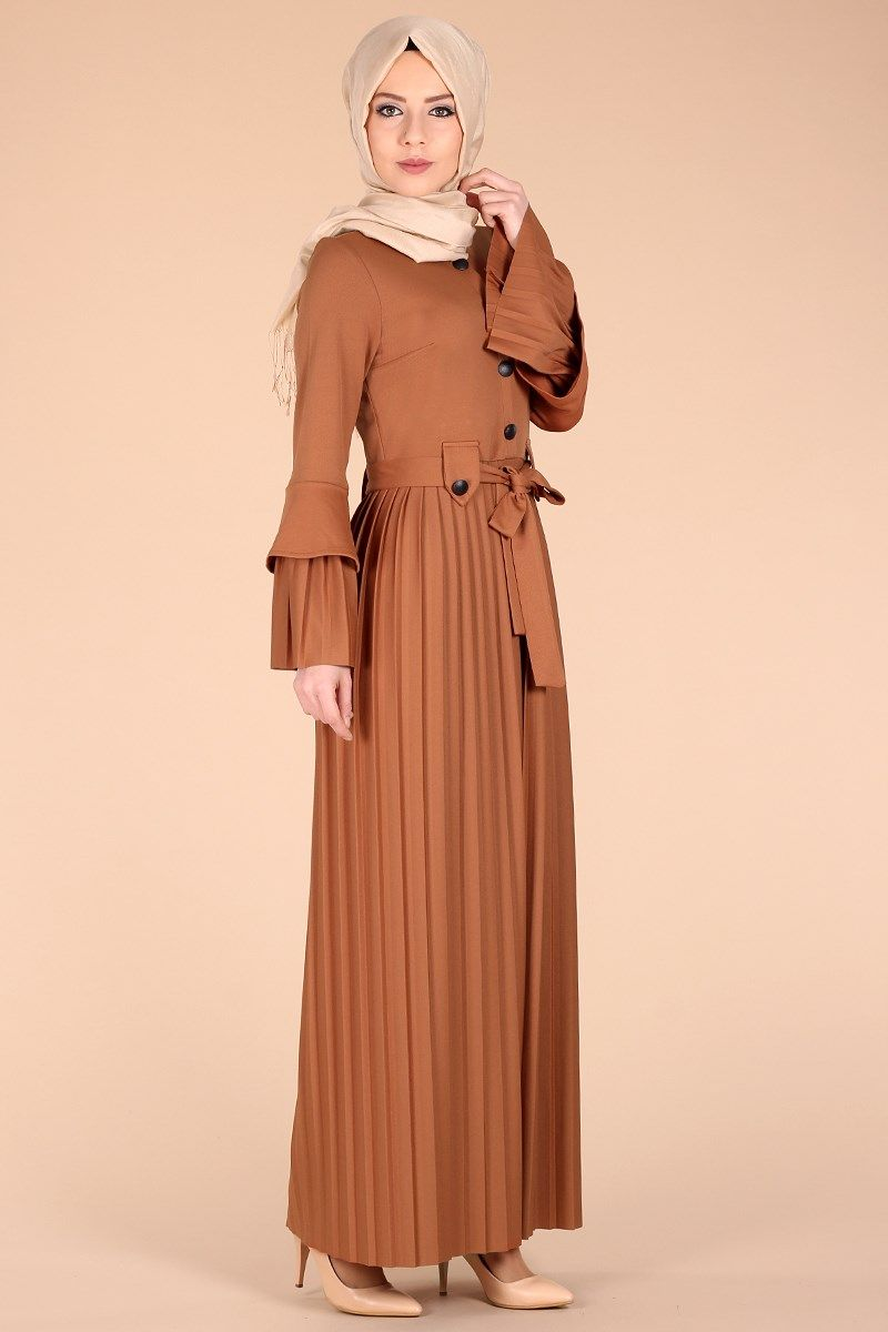 Sik Ve Kullanisli Tesettur Bayan Elbise Modelleri Kirazgiyim Com Da Kredi Kartina 9 Taksit Ve Kapida Odeme Imkani Ile Model Pakaian Hijab Model Pakaian Wanita