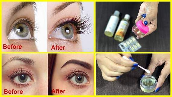 Magical Diy Serum To Grow Your Eyelashes And Eyebrows Very Fast
