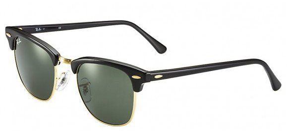 401f8fece4505 Óculos Ray-ban RB3016 W0365 Clubmaster Clássico com armação em acetato preto  e detalhes em metal dourado. FICHA TÉCNICA Modelo Clubmaster Marca Ray-ban  ...