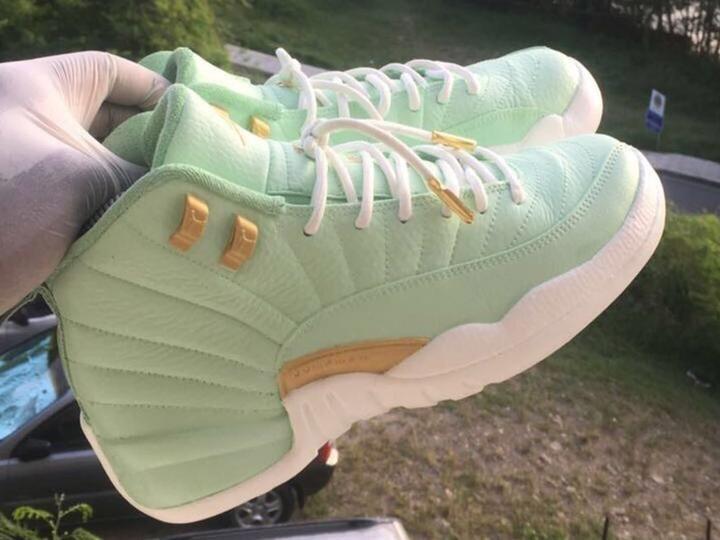 Custom retro Jordan Green 12s | Jordan