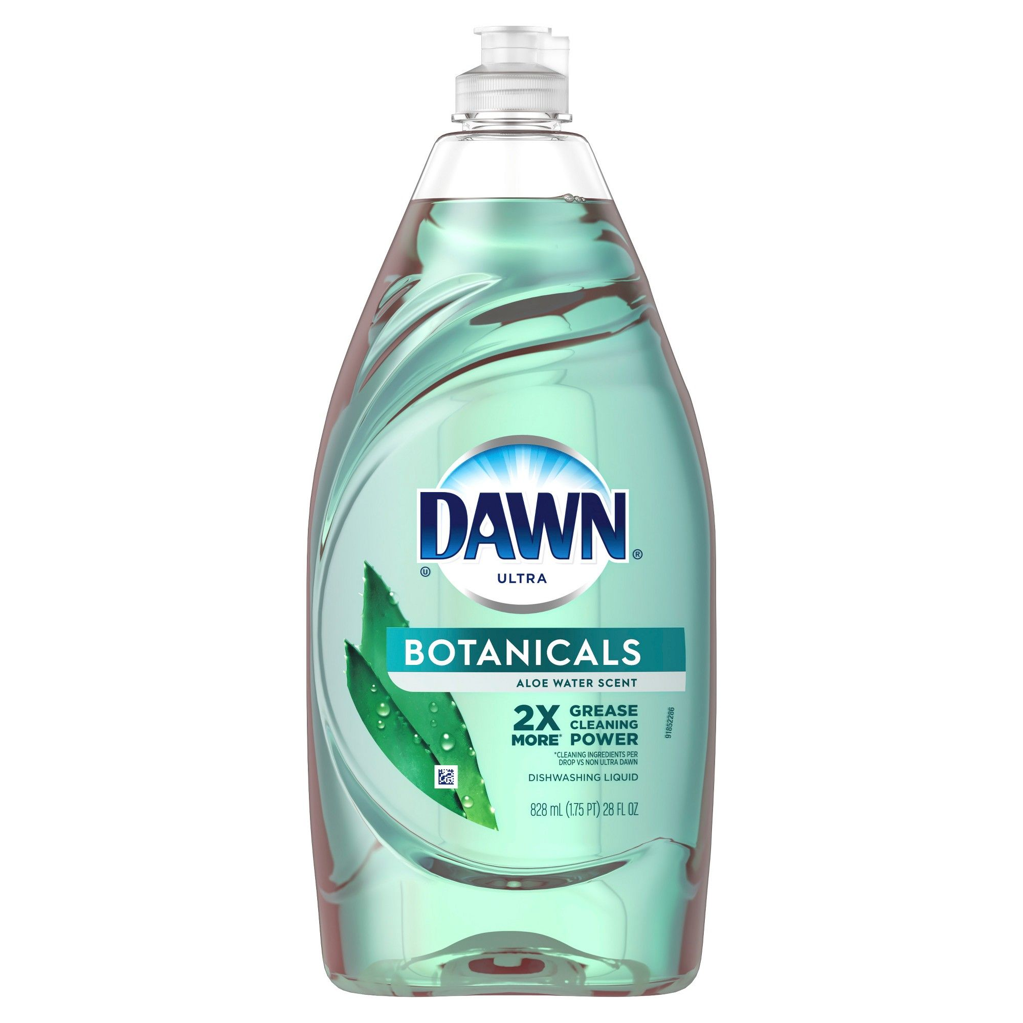Dawn Ultra Botanicals Dishwashing Liquid Dish Soap Aloe Water
