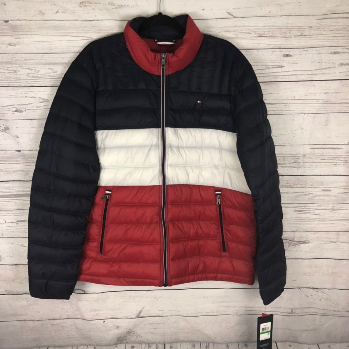 Tommy Hilfiger Packable Xl Jacket Nwt Men S Coats And Jackets Red Jacket Jackets [ 1200 x 1200 Pixel ]