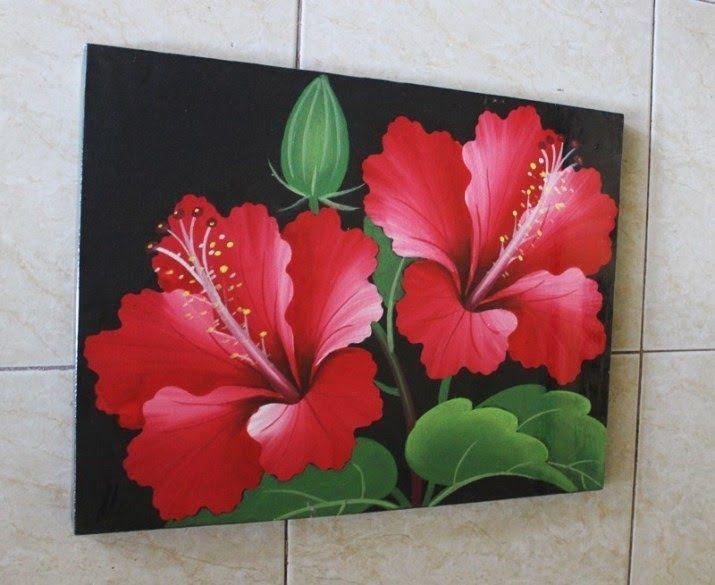 28 Lukisan Bunga Untuk Kelas 50 Contoh Gambar Lukisan Bunga Sederhana Yang Indah Di Download S E N I L U Di 2020 Lukisan Bunga Lukisan Bunga Matahari Seni Kanvas