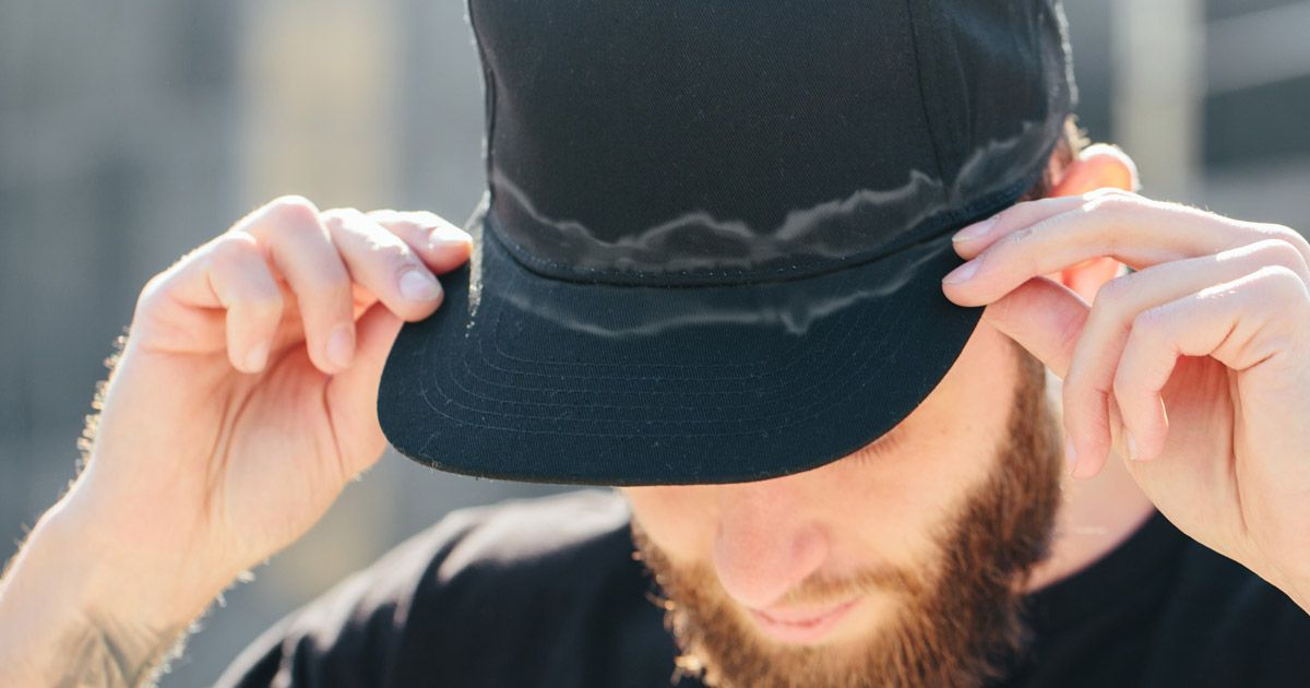 How to get sweat stains out of hats 6 ways to clean your
