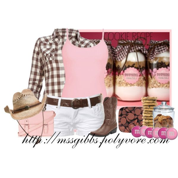 Cowgirl Cookies, created by mssgibbs on Polyvore