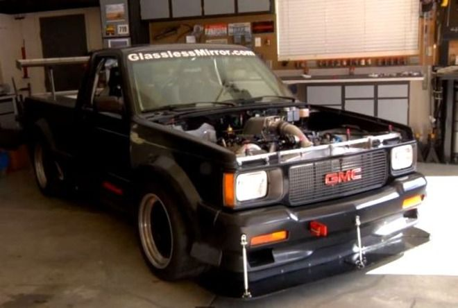 Man Converted A Gmc Syclone Pickup Truck Into A Sneezing Growling