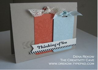 Regarding Dahlias, Tape It, Four You,  Scallop Tag Topper Punch, Modern Medley Printed Paper, Dena Rekow, The Creativity Cave