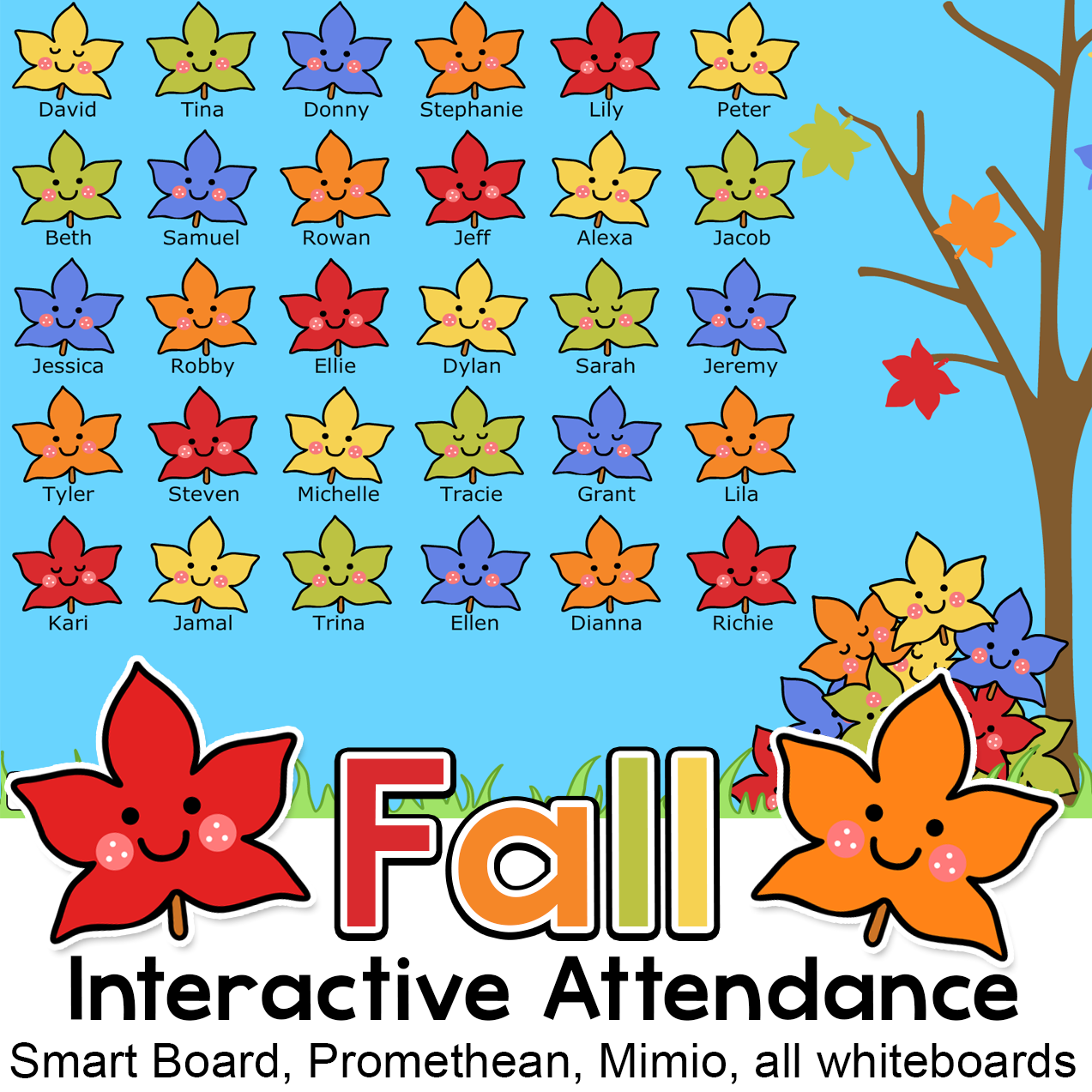 Fall Attendance With Lunch Count For Interactive