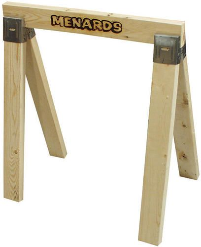 Wood Sawhorse Kit At Menards Menards Woodworking Woodworking Projects