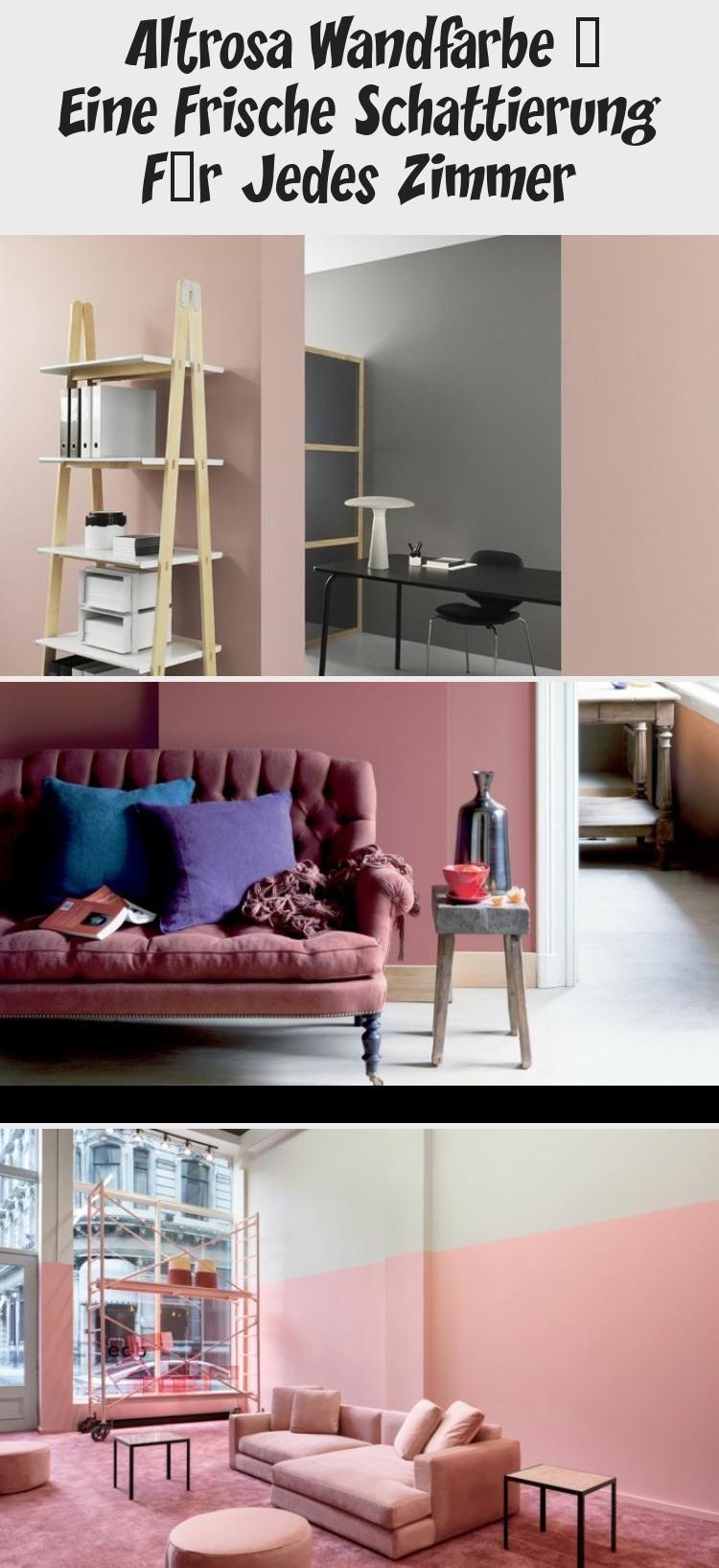 Altrosa Wandfarbe Eine Frische Schattierung Fur Jedes Zimmer In 2020 Shoe Rack Home