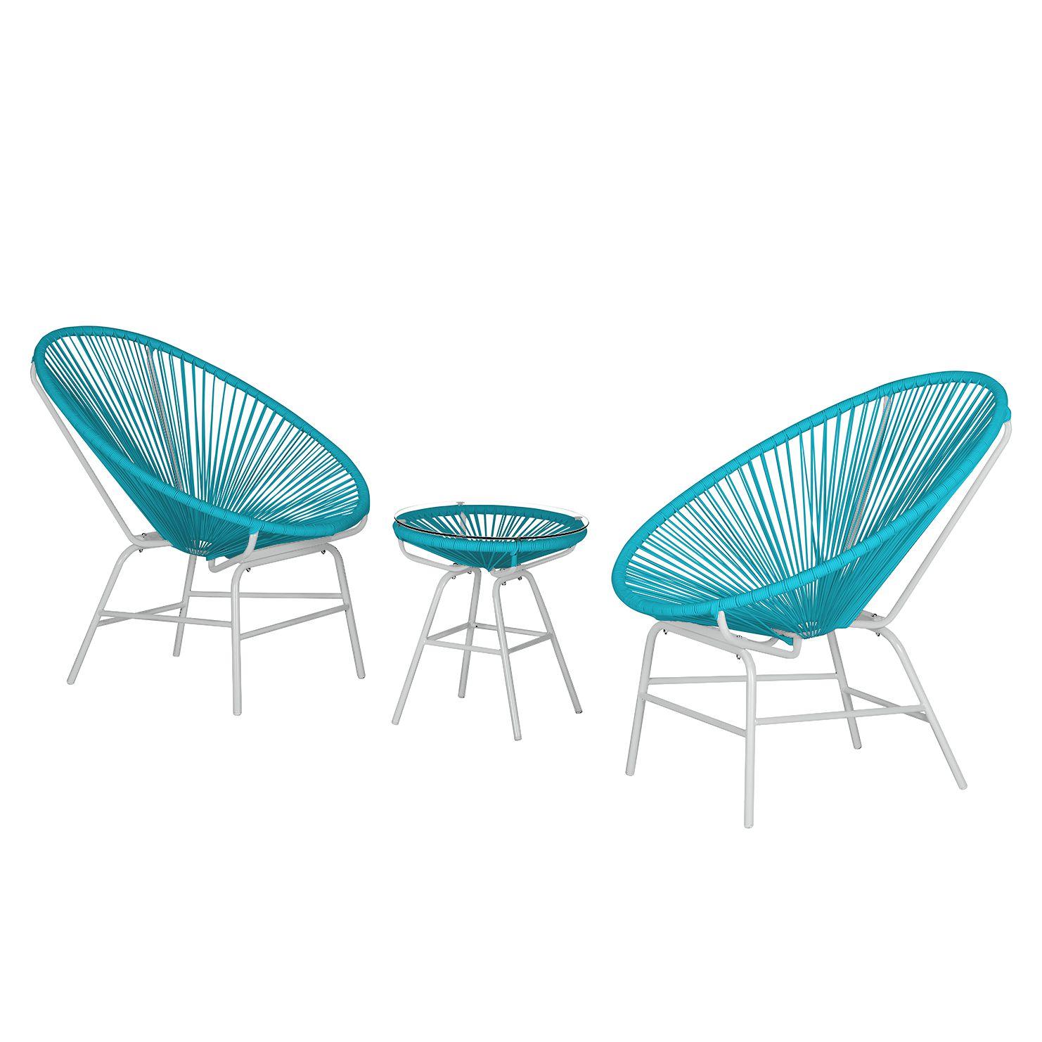 Sitzgruppe Copacabana Iv 3 Teilig Kunststoff Metall Turkis Weiss Loftscape Jetzt Bestellen Unter Https Moe Gartenmobel Sets Gartenmobel Sitzgruppe