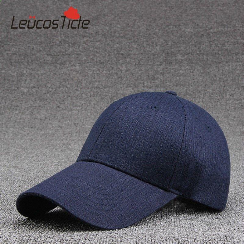 625bc9a3292 LeucosTicte 2017 New Polyester Wholesale Hat Warm Cotton Baseball Cap Bone  Golf Hats For Shade Sun