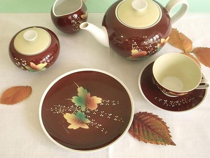 porzellanfabrik kr ger geiersthal th ringen handbemalt ddr gdr vintage tableware kaffee. Black Bedroom Furniture Sets. Home Design Ideas
