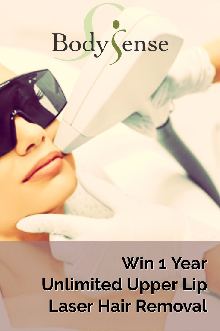 Enter to win  Year Unlimited Upper Lip Laser Hair Removal