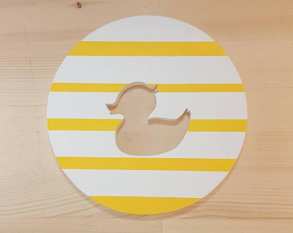 Rubber Ducky Wall Art- Great For New Babies or Expecting Parents ...