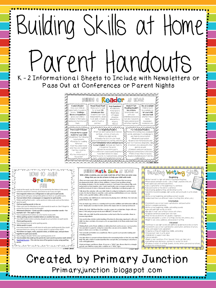 templates for handouts