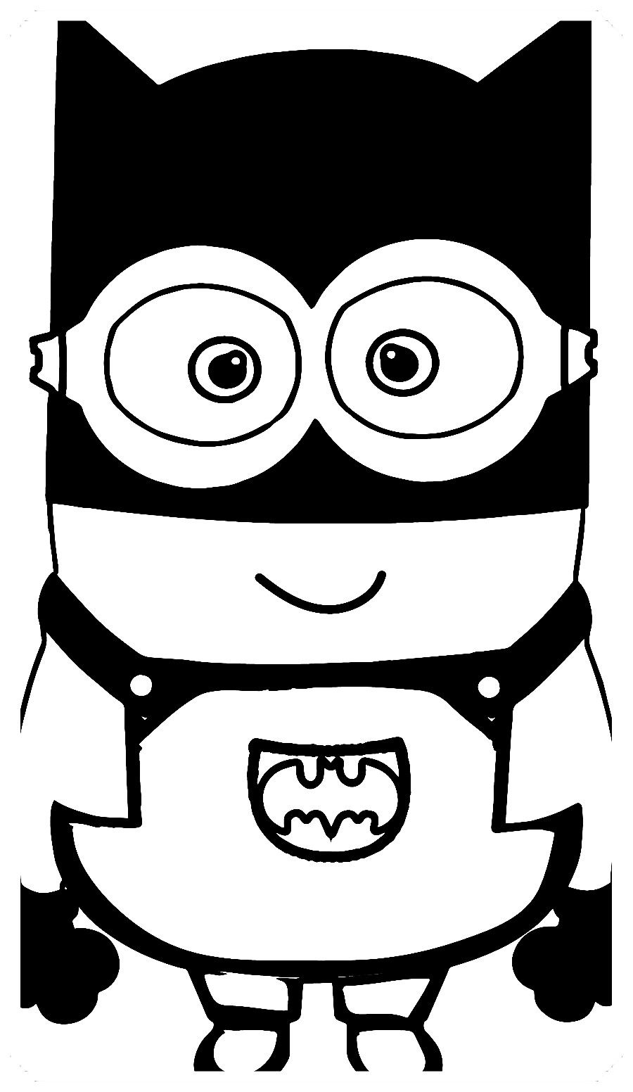 Los Más Lindos Dibujos De Minions Para Colorear Y Pintar A Todo Color Imágenes Prontas Para Descargar Minions Dibujos Páginas Para Colorear Para Niños Minions