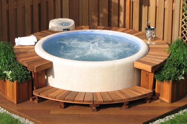 Softub Whirlpool Whirlpooltubsurround Whirlpool Garten Whirlpool Whirlpool Deck