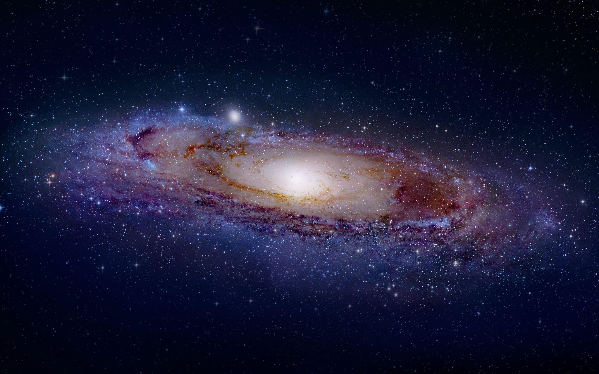 Andromeda Galaxy 4k Wallpaper