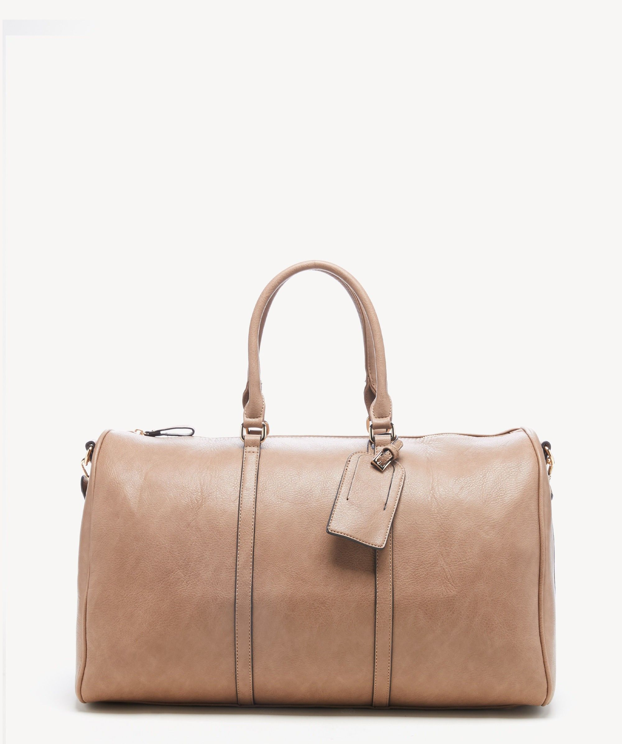 Vegan Leather Weekender The Perfect Travel Bag Vegan Leather Bag Leather Weekender Leather Duffle Bag