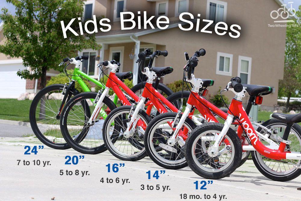 Best Kids Bikes The Authoritative Buying Guide Kids Bike Sizes
