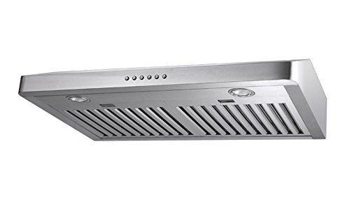 30u0027 Stainless Steel Baffle Filter Under Cabinet Range Hood Slim Design **  This