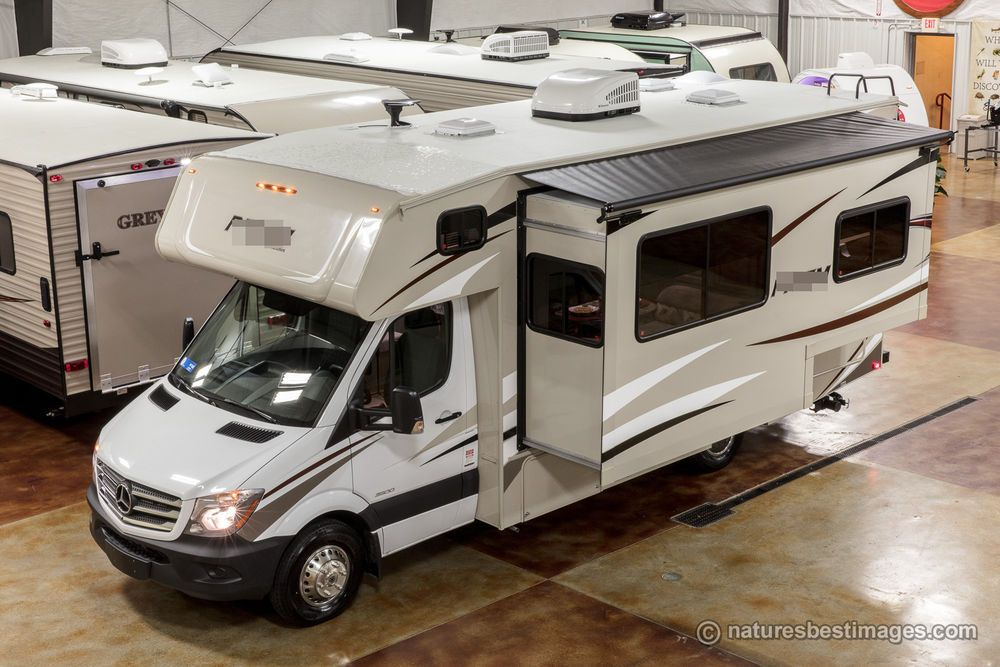 2018 Class C Mercedes Diesel Motorhome Model 2200 Mercedes Benz