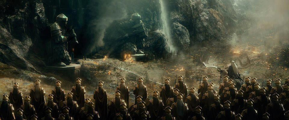 Thranduil et son armée