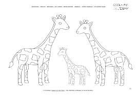 coloring pages giraffe printable  google search  arctic