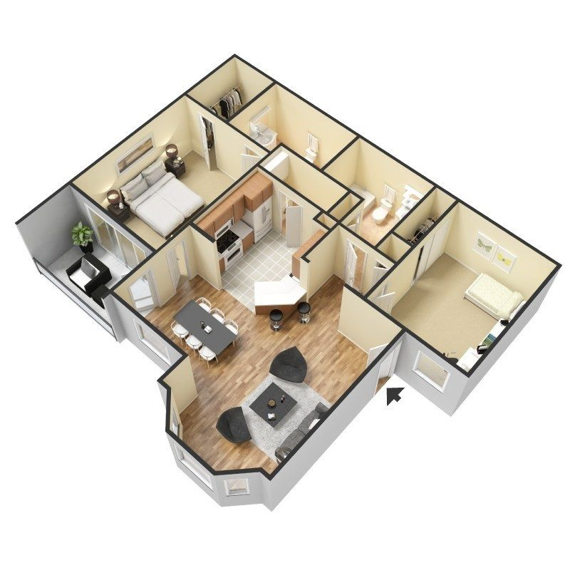 2 Beds 2 Baths Apartment For Rent In Beaumont Tx West End Lodge In Beaumont Tx Sims House Design Modern House Design Sims House