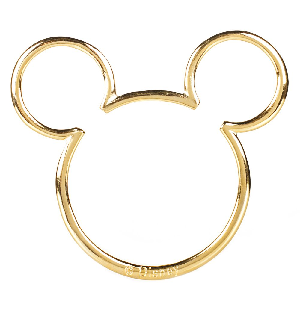 Gold Plated Mickey Mouse #Disney Silhouette #Bracelet from Gogo ...